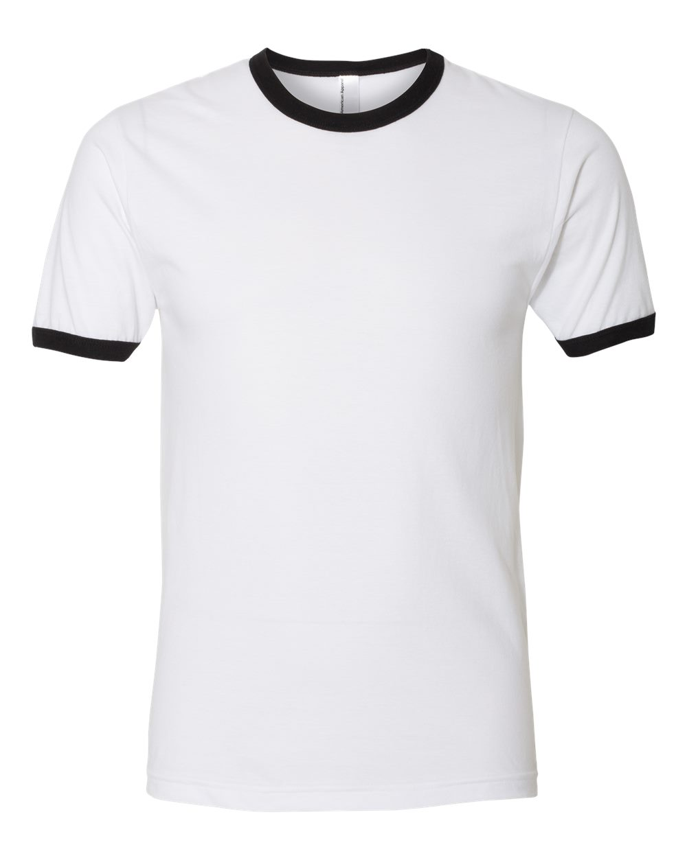 Fine Jersey Ringer Tee-American Apparel