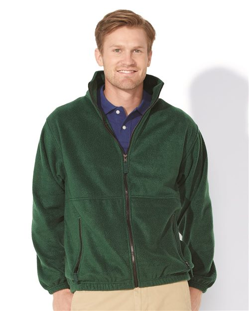 Sierra Pacific 3061 Fleece Full-Zip Jacket Model Shot
