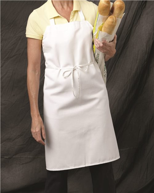 Chef Designs 1430 Bib Apron Model Shot