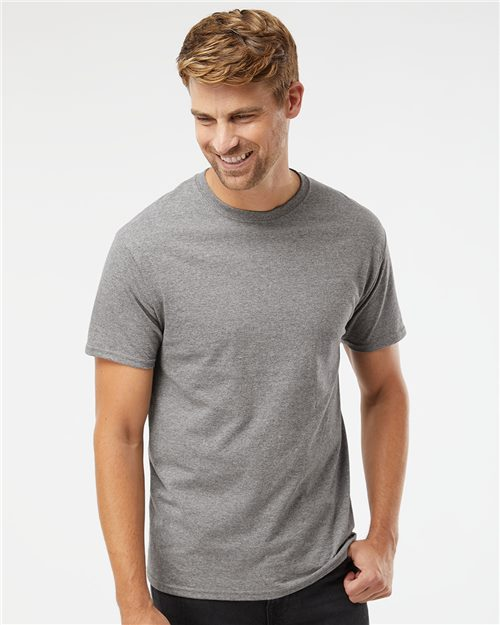Fruit of the Loom 3930R HD Cotton Short Sleeve T-Shirt Model Shot
