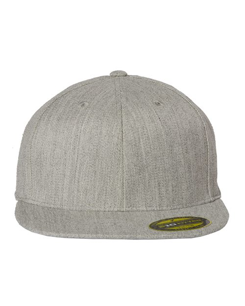 Flexfit 6210FF 210® Flat Bill Cap Model Shot