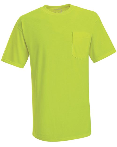 Red Kap SY06 Enhanced Visibility T-Shirt with a Pocket Model Shot