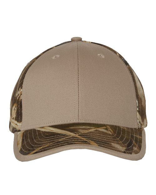 Kati Camo Cap with Solid Front