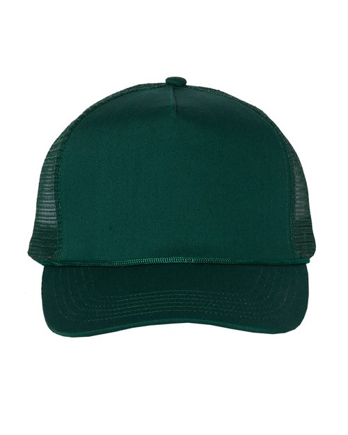 Valucap 8804H Gorra de camionero con malla de cinco paneles Model Shot