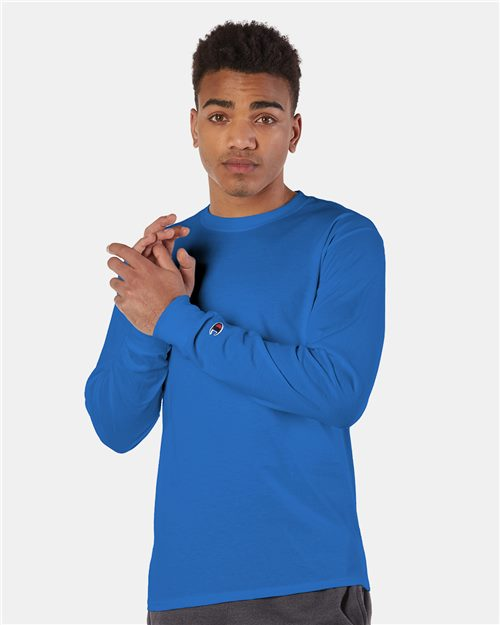 Champion CC8C Long Sleeve T-Shirt Model Shot