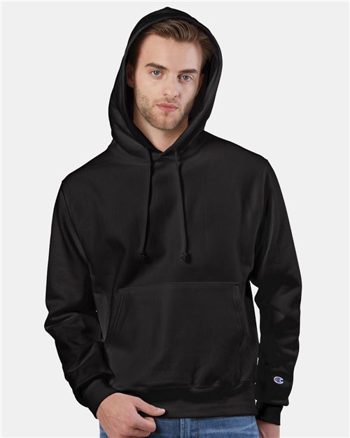 Champion S101 Reverse Weave® Hooded Pullover Sweatshirt Model Shot