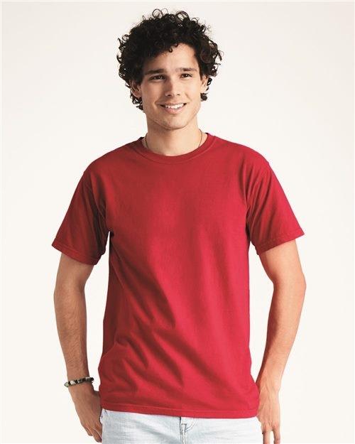 Comfort Colors 1717 Garment-Dyed Heavyweight T-Shirt Model Shot