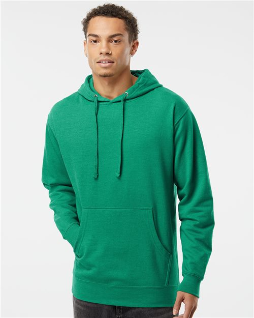 Independent Trading Co. SS4500 Midweight Hooded Sweatshirt Model Shot