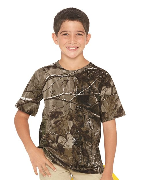 Code Five 2280 Youth Realtree® Camo Tee Model Shot