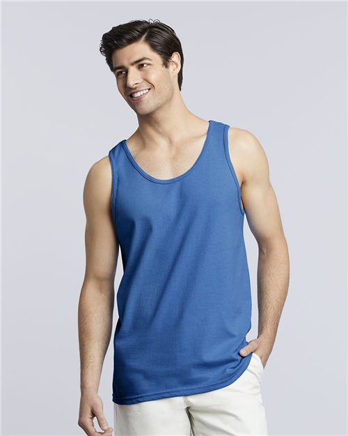 Gildan 2200 Ultra Cotton® Tank Top Model Shot