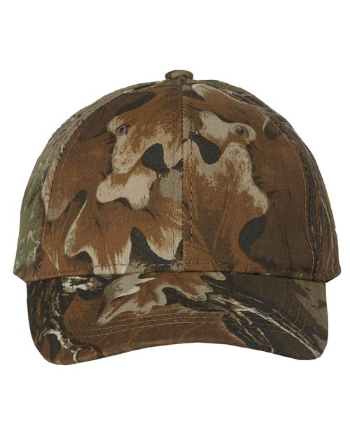 Outdoor Cap 401PC Classic Camo Cap Model Shot