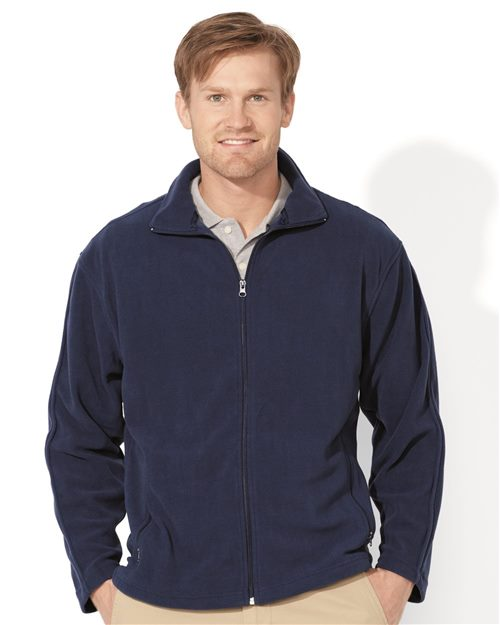 FeatherLite 3301 Microfleece Full-Zip Jacket Model Shot