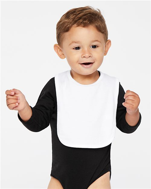Rabbit Skins 1005 Infant Premium Jersey Bib Model Shot