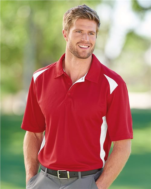 Augusta Sportswear 5012 Two-Tone Premier Sport Shirt Model Shot