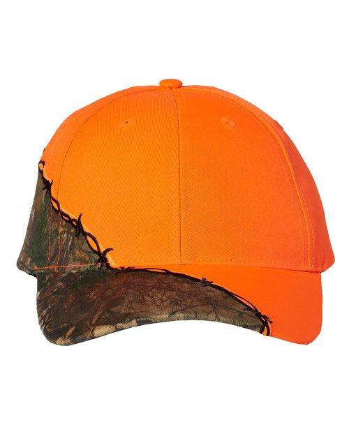 Kati Camo Cap with Barbed Wire Embroidery