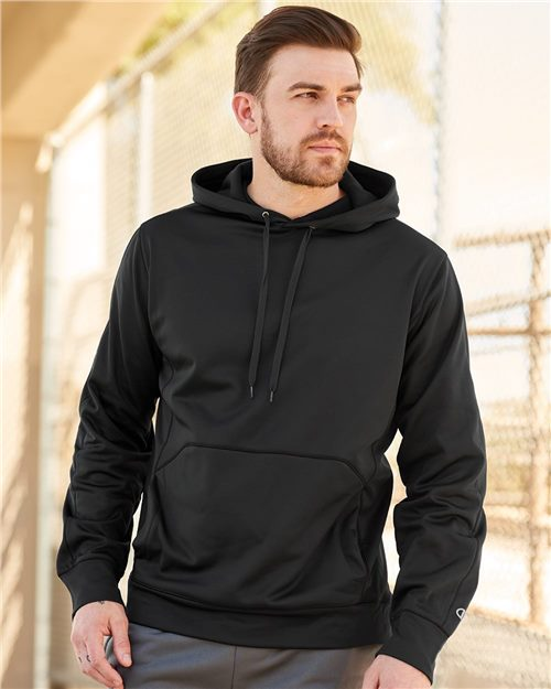 Champion S220 Performance Hooded Pullover Sweatshirt Model Shot