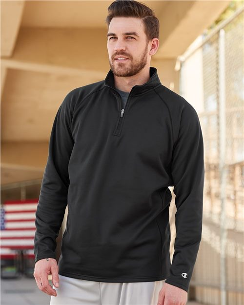 Champion S230 Sudadera Performance Quarter-Zip Model Shot