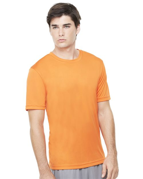 All Sport M1009 Polyester Sport T-Shirt Model Shot