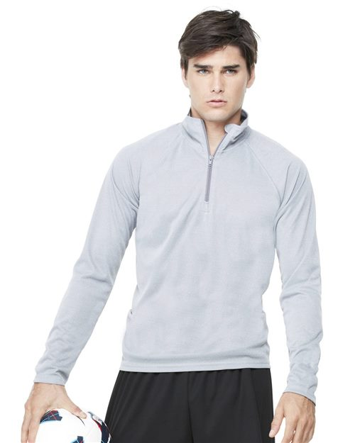 All Sport M3006 Quarter-Zip Lightweight Pullover Model Shot