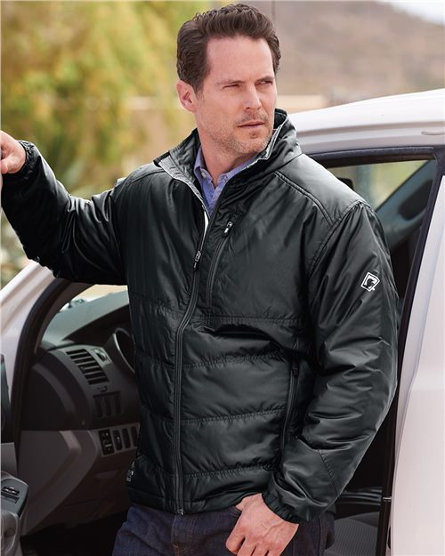 DRI DUCK 5321 Eclipse Thinsulate™ Lined Puffer Jacket Model Shot