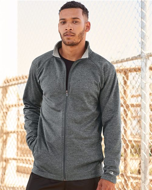 Champion S270 Performance Full-Zip Jacket Model Shot