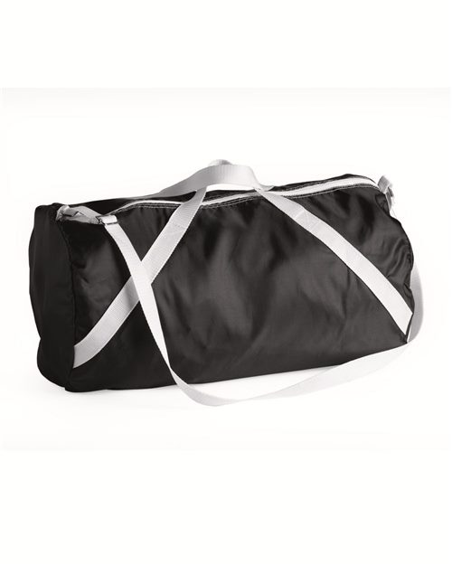 "Liberty Bags FT004 18"" Nylon Roll Duffel Bag Model Shot"