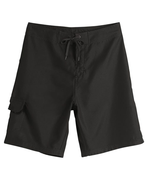 Burnside 9371 Diamond Dobby Board Shorts Model Shot