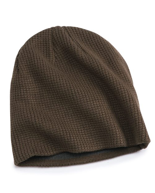 Sportsman SP50 Waffle Knit Beanie Model Shot