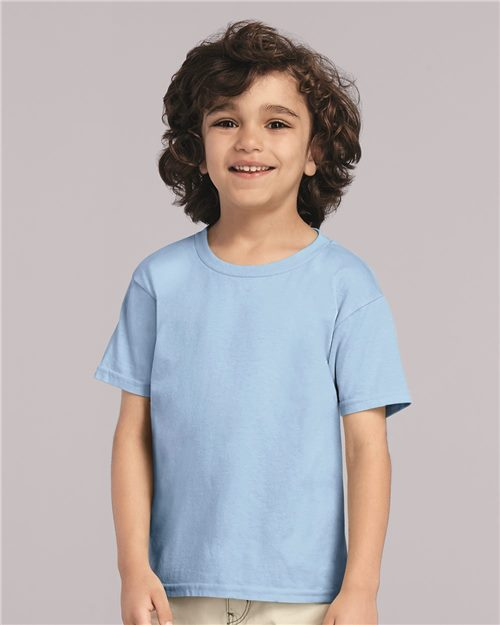 Gildan 5100P Heavy Cotton™ Toddler T-Shirt Model Shot