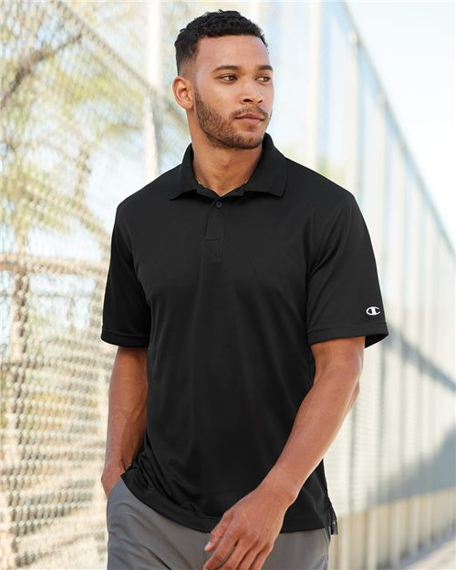Champion H131 Ultimate Double Dry® Performance Sport Shirt Model Shot