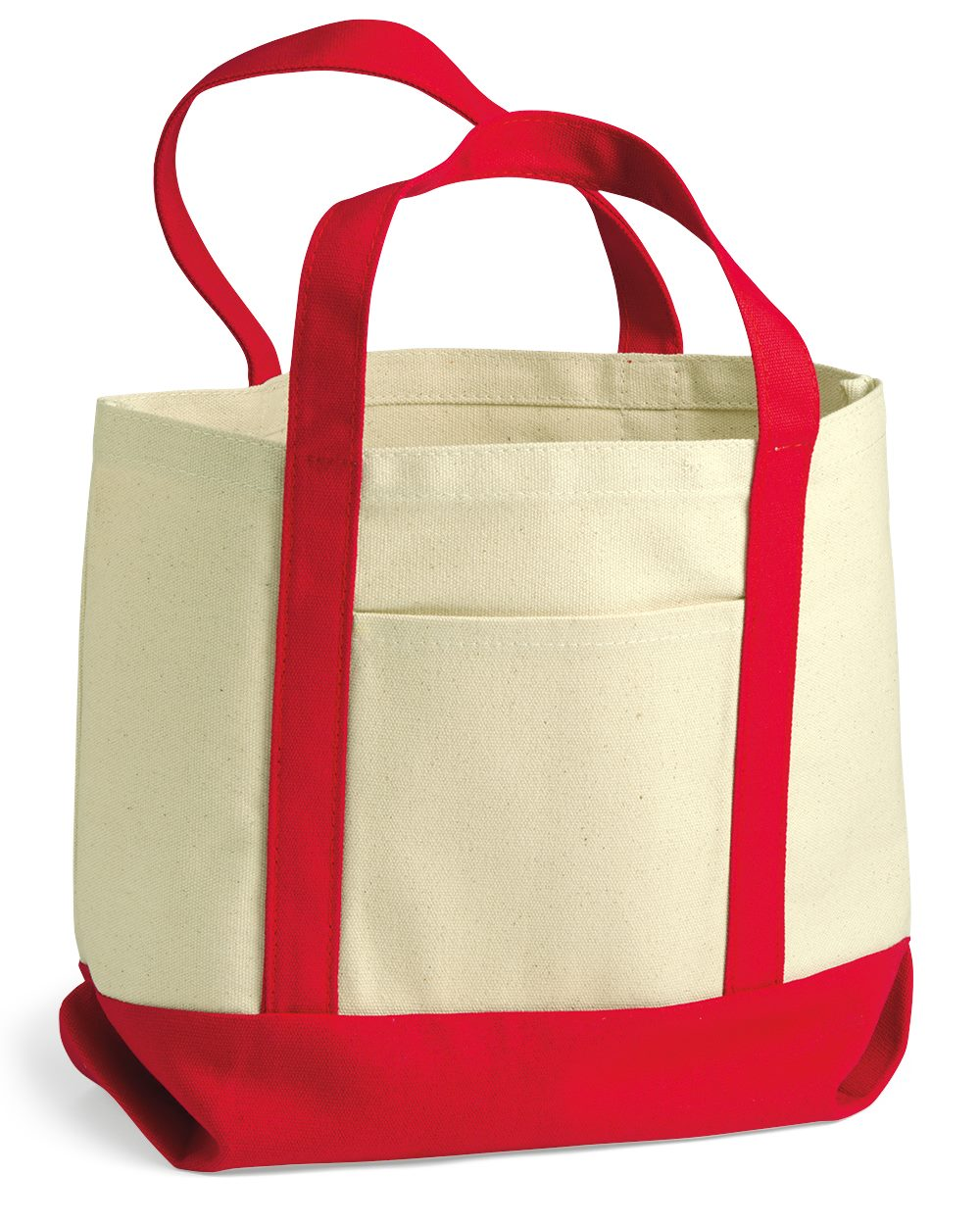 Liberty Bags 11 Ounce Small Cotton Canvas Boater Tote