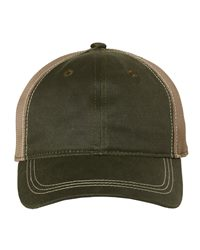Outdoor Cap Weathered Mesh-Back Cap