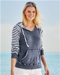 MV Sport Women's Angel Fleece Sanded Piper Hooded Sweatshirt