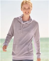 MV Sport Women's Aubrey Gauze Knit Funnel Neck Pullover