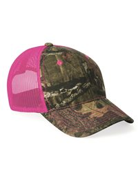 Outdoor Cap Neon Mesh-Back Camo Cap