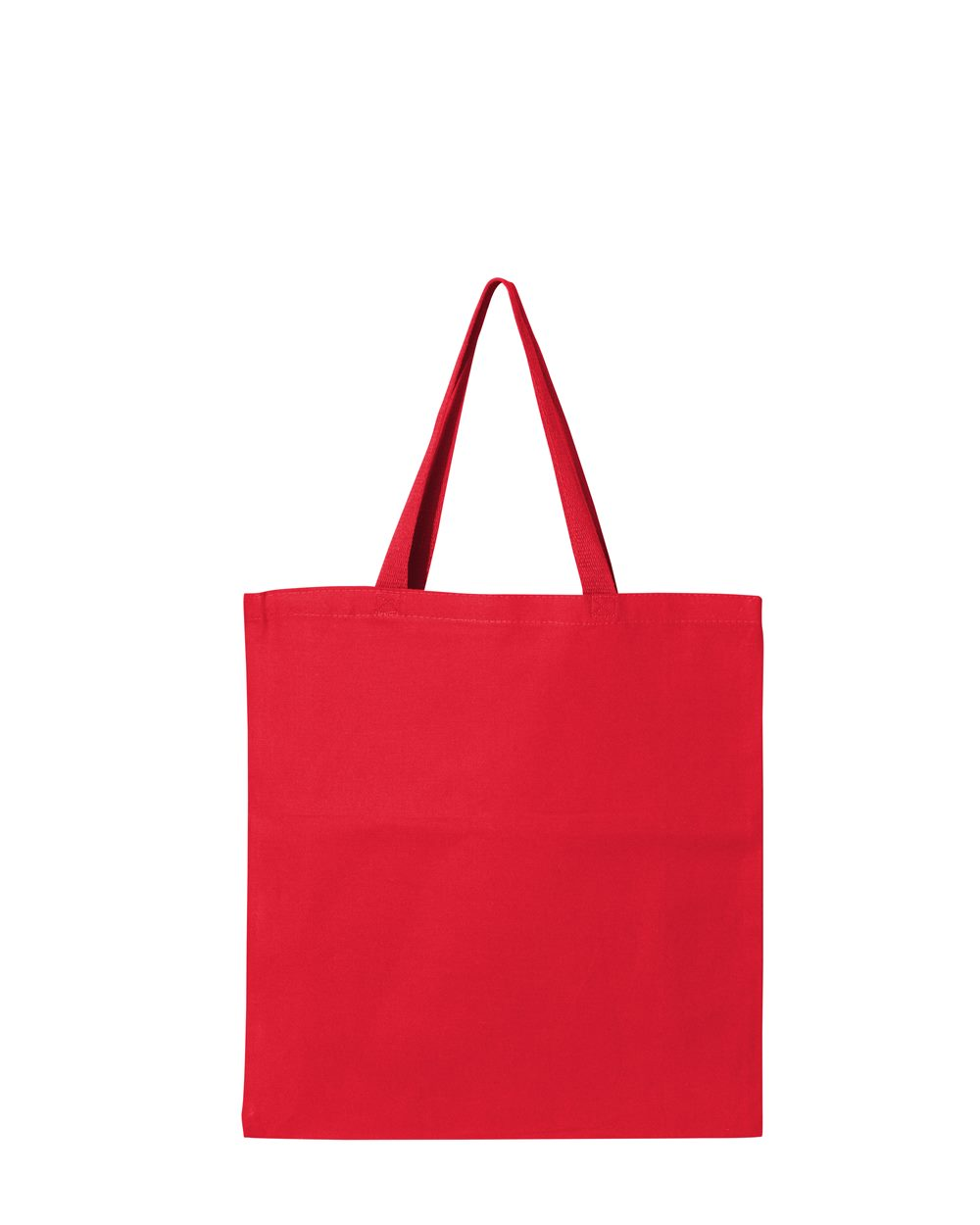 Q-Tees Canvas Promotional Tote