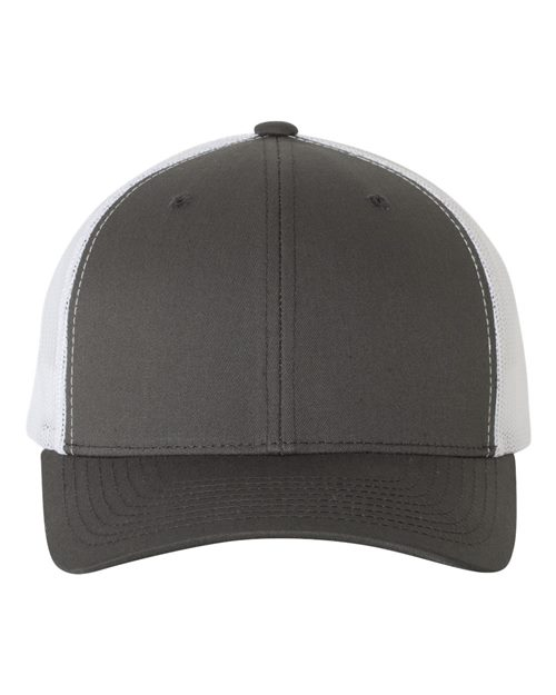 Yupoong 6606 Classics™ Six-Panel Retro Trucker Cap Model Shot