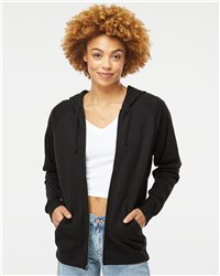 Independent Trading Co. Unisex Special Blend Raglan Full-Zip Hooded Sweatshirt