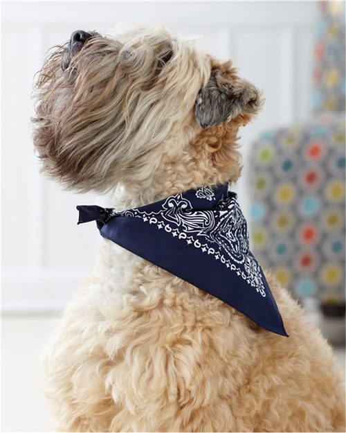 Doggie Skins 3905 USA-Made Doggie Bandana Model Shot