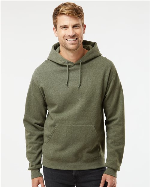 JERZEES 996MR NuBlend® Hooded Sweatshirt Model Shot