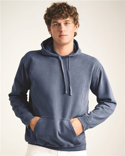 Comfort Colors 1567 Garment-Dyed Hooded Sweatshirt Model Shot