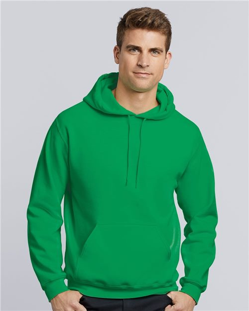 Gildan 18500 Heavy Blend™ Hooded Sweatshirt Model Shot