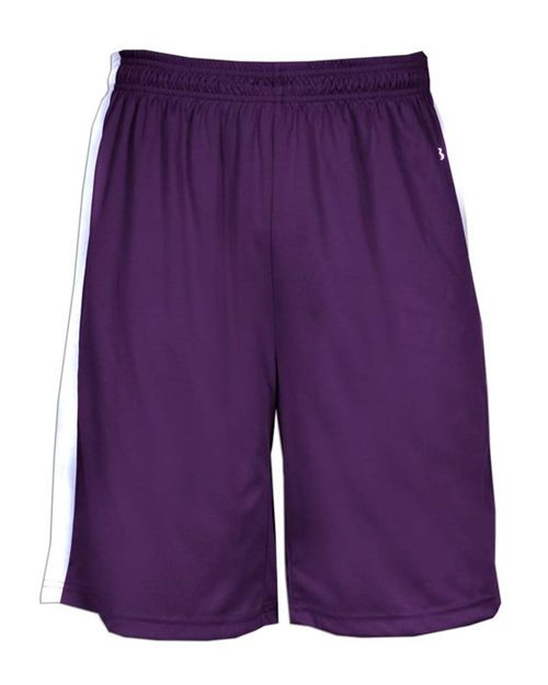 Badger 2243 Youth B-Core B-Power Reversible Shorts Model Shot