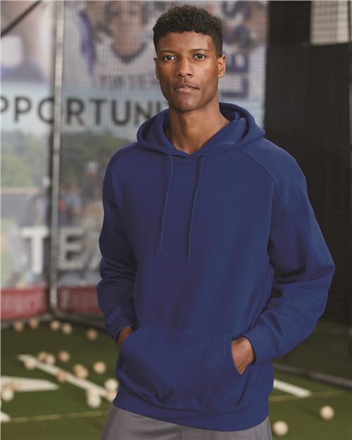 C2 Sport 5500 Hooded Sweatshirt Model Shot