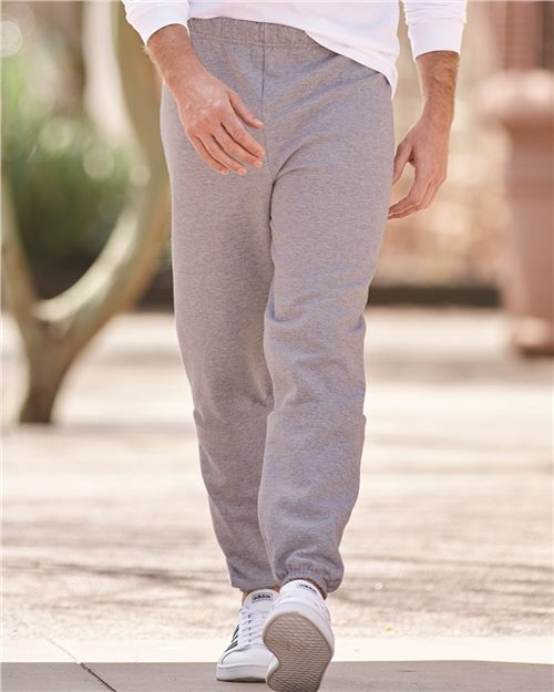 JERZEES 973MR NuBlend® Sweatpants Model Shot