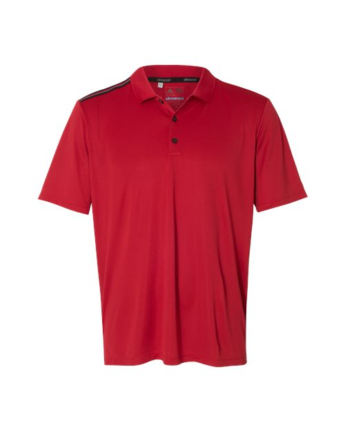 Adidas A233 3-Stripes Shoulder Sport Shirt Model Shot