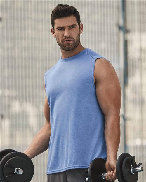 Gildan 42700 Performance® Sleeveless T-Shirt Model Shot