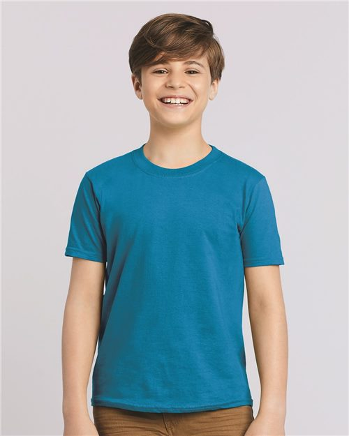 Gildan 64500B Softstyle® Youth T-Shirt Model Shot