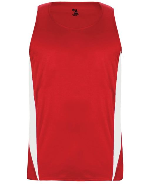 Alleson Athletic 2667 Youth Stride Singlet Model Shot