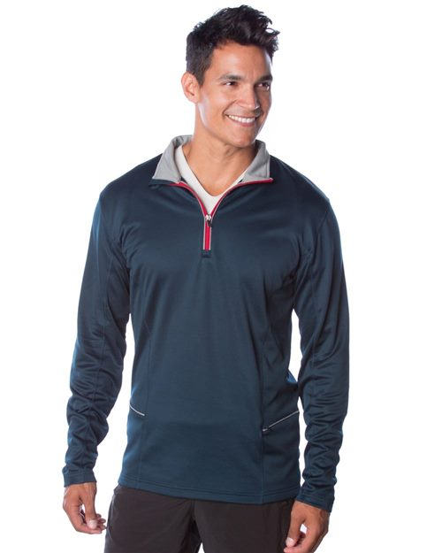 Independent Trading Co. Lightweight Poly-Tech 1/4 Zip Cadet